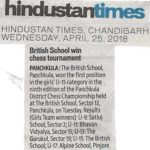 Hindustan Times 25.04.18