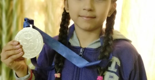 Riya Verma, Skating Champ