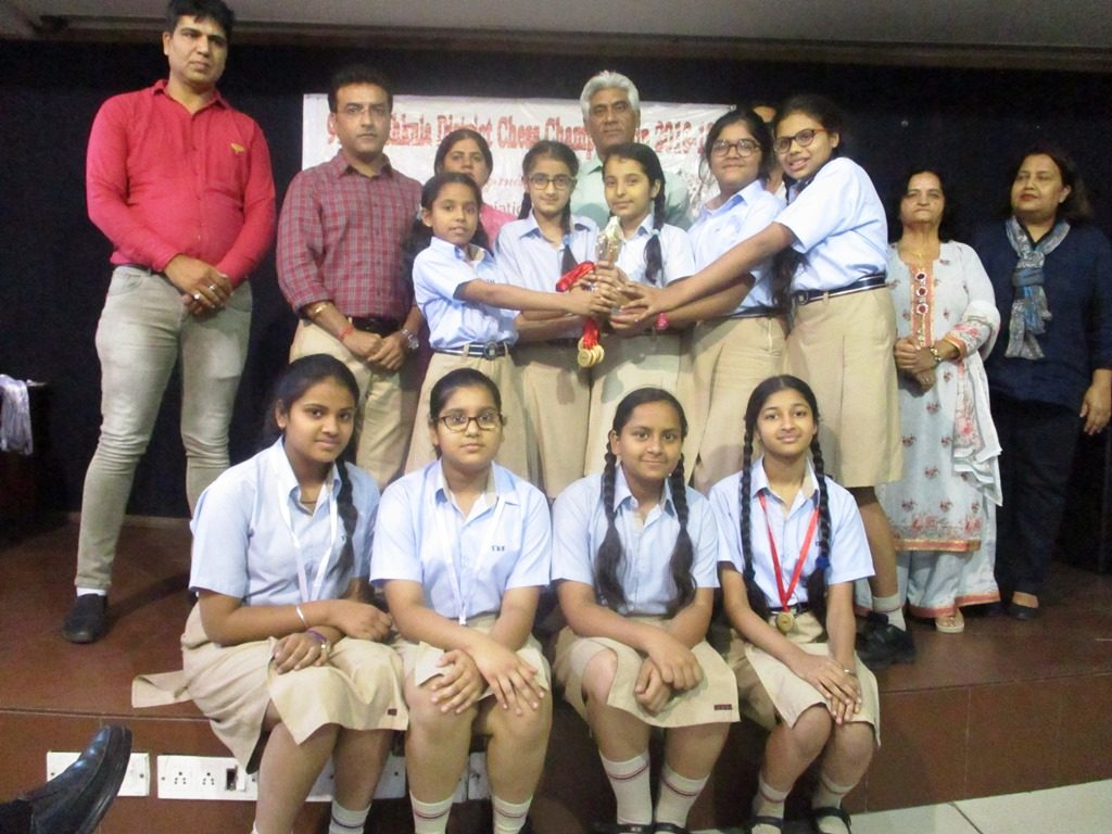 The British School , Panchkula girls bag the under-15 Chess Championship